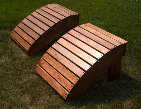 Adirondack Chairs Only by Adirondack Footstool Only Outside Patio Ideas