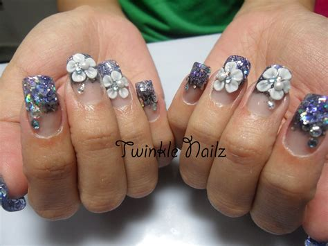 3d acrylic paint nail 3d acrylic nail designs