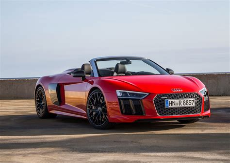 Audi Spider new 2017 audi r8 v10 spyder arrives in the us from
