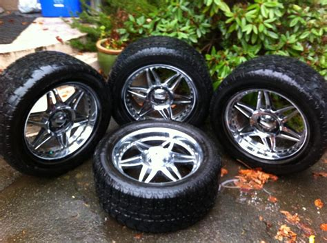 rubber sts toronto 22 inch chrome truck rims with rubber saanich