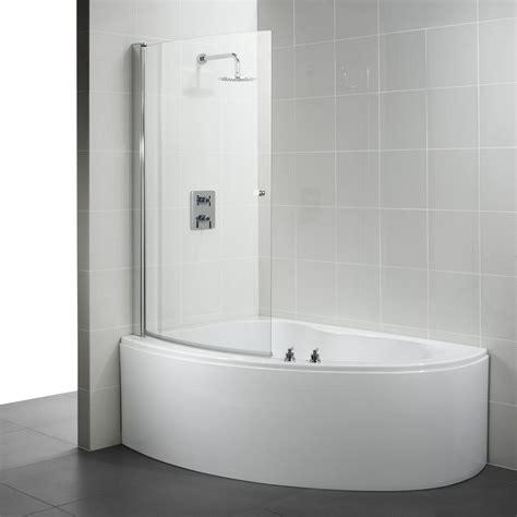offset corner bath shower screen corner bathtub and shower ideal standard create offset