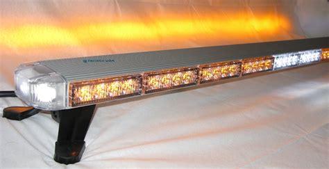 led light bars for tow trucks 50 quot clear led lightbar warning tow truck