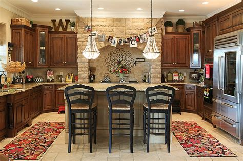 decorating ideas for kitchen cabinet tops decorating ideas that add festive charm to your kitchen