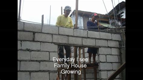 Home Design Building Blocks building our philippines family home youtube