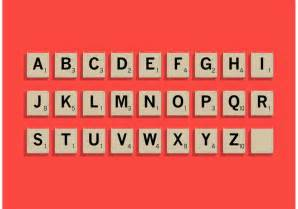 letter tiles in scrabble scrabble letter tiles set free vector