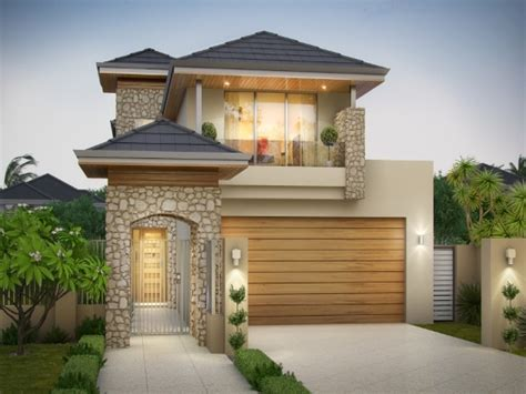 narrow lot house plans with front garage modern narrow lot house plans with front garage home