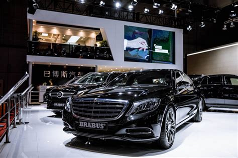 Mercedes Lineup by 2017 Shanghai Auto Show Mercedes Lineup By Brabus