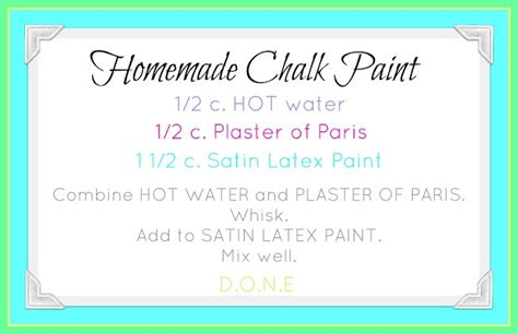 diy chalk paint plaster of recipe 1000 images about plaster of on