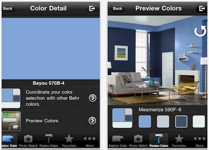 behr paint color app behr s colorsmart color selection tool goes mobile pro