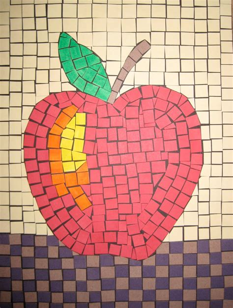 mosaic crafts for mosaics teachkidsart