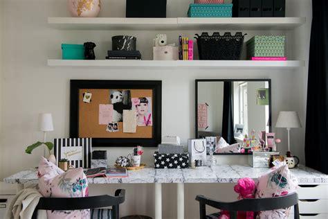 desks for room bedroom makeover the desk vanity diy room decor