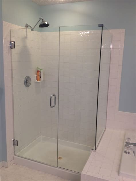 frameless shower door price how much does a frameless shower door cost frameless