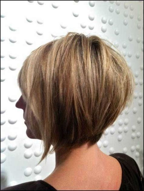 bob layered hairstyles front and back view cute sliced layered chin length bob haircut front back