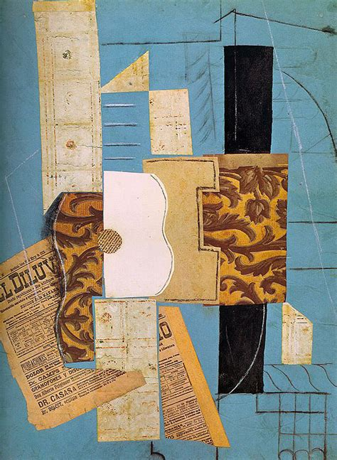 picasso paintings guitar the guitar 1913 pablo picasso wikiart org