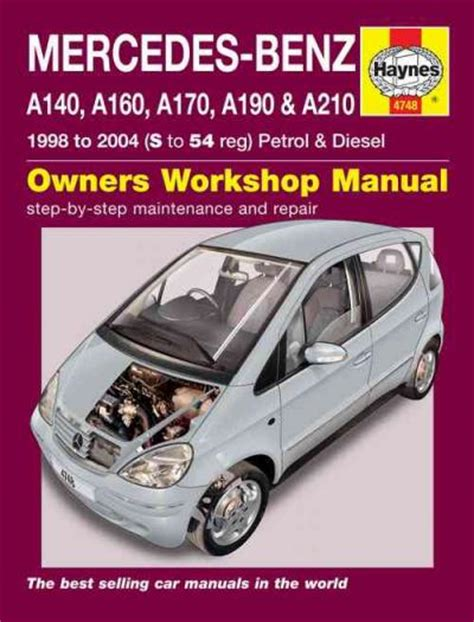 service manual auto repair manual online 2004 mercedes mercedes benz w168 manual