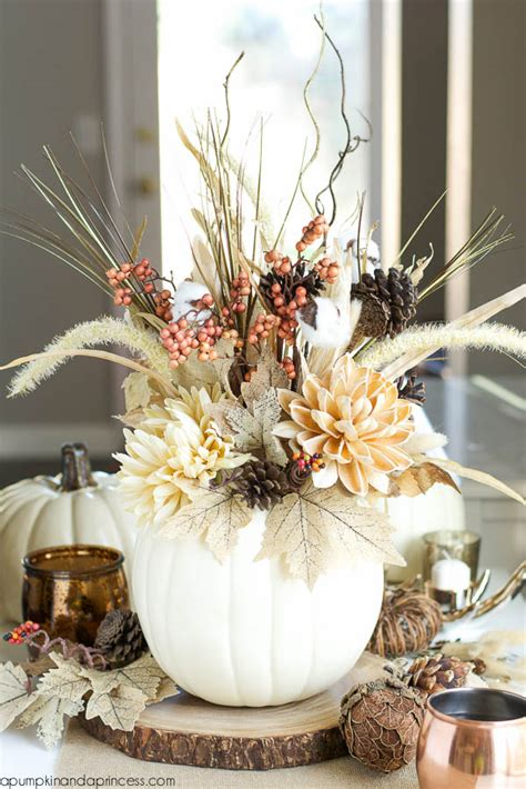 autumn wedding centerpieces for tables 65 awesome pumpkin centerpieces for fall and