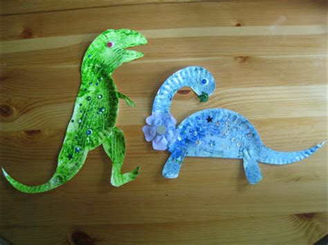 paper plate dinosaur craft 4 paper plate dinosaurs