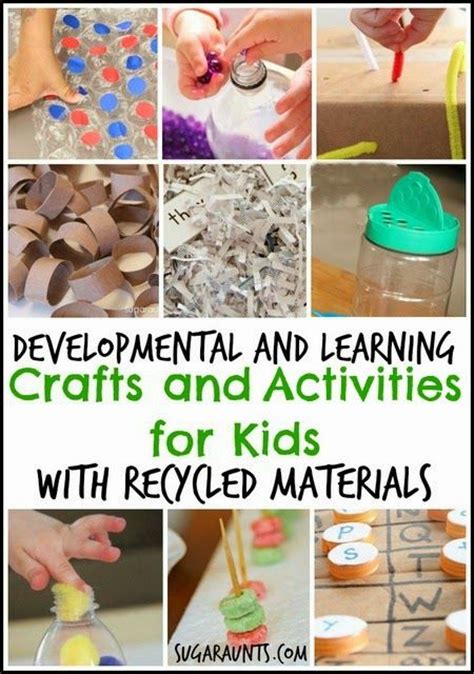 crafts for using recycled materials 17 best images about earth day recycling activities for