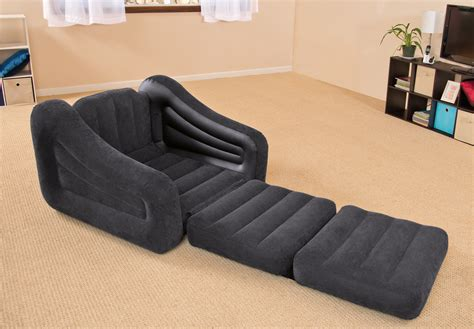 pull out chair bed intex air chair with pull out bed mattress