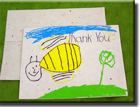 thank you cards for children to make handmade note cards printed and real flower
