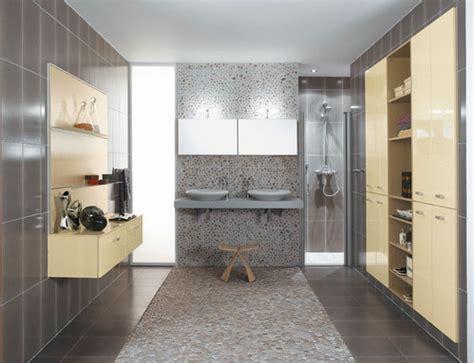 photo guide de la salle de bain galets