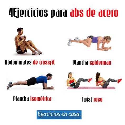 4 ejercicios para el abdomen en casa rutina ejercicios - Videos Abdominales En Casa