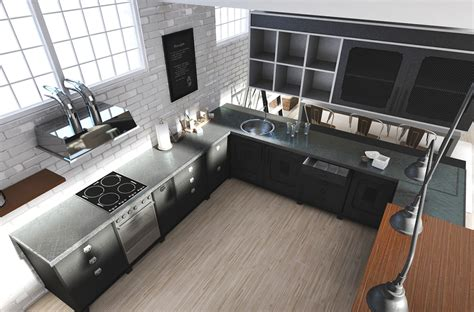 Interior Designer Kitchen these lofts are up in the clouds with their white designs