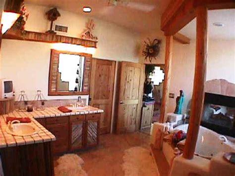 southwest bathroom decorating ideas bath bathroom sw vigas latillas pine poles az arizona