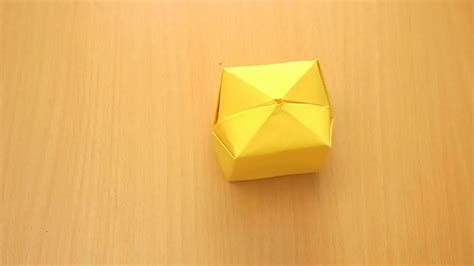 how to fold an origami paper origami cube comot