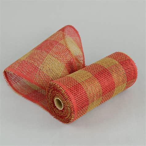 paper mesh craft 10 quot paper mesh roll plaid 10 yards rr800253