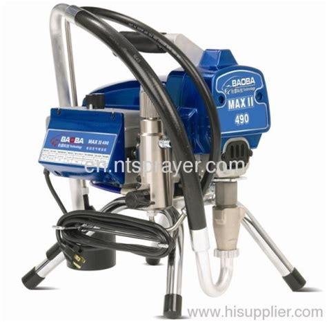 spray painting machine 1600w motor power electric airless spray painting machine