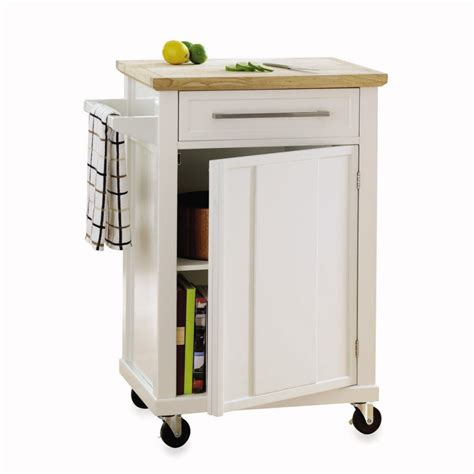 kitchen island rolling cart three wood topped kitchen carts on casters in budget midrange and investment oregonlive