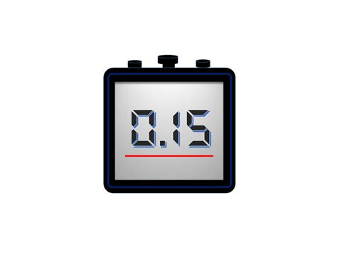 powerpoint timer animation template stopwatch elearningart