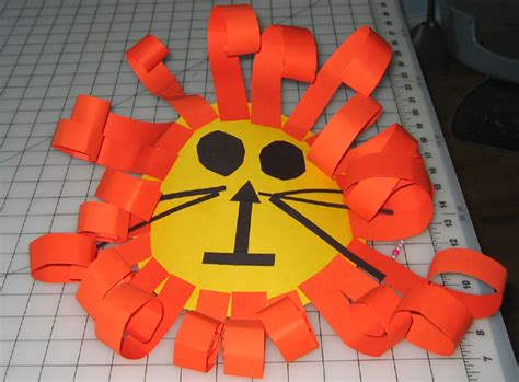 construction paper crafts for 4 year olds identity