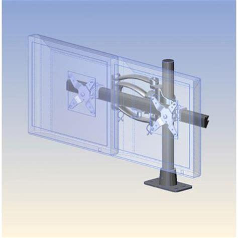 ergotech horizontal lcd monitor arm desk stand ergotech 200 f16 b02 dual horizontal articulating arm