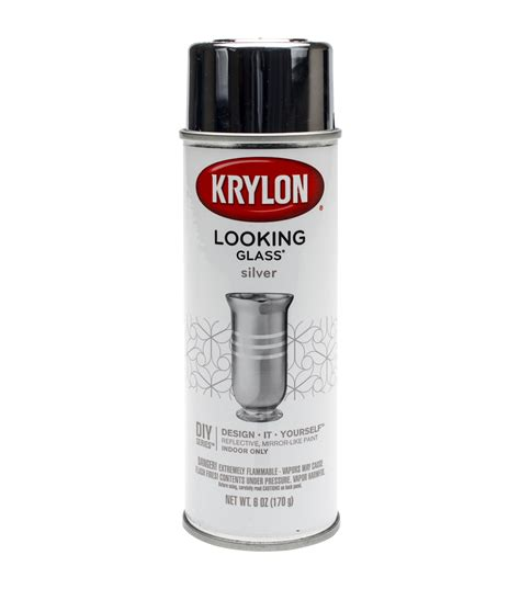 spray paint on glass looking glass aerosol spray paint 6oz jo