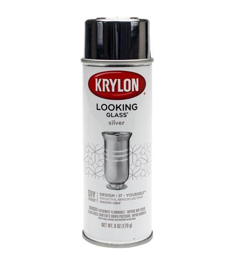 spray paint glass looking glass aerosol spray paint 6oz jo