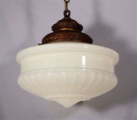 light fixture glass large antique pendant light fixture with original milk