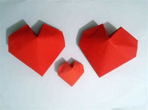 3d hearts origami s day ideas origami 3d paper