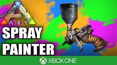 ark survival spray painted xbox one ark survival evolved xbox one spray painter controls