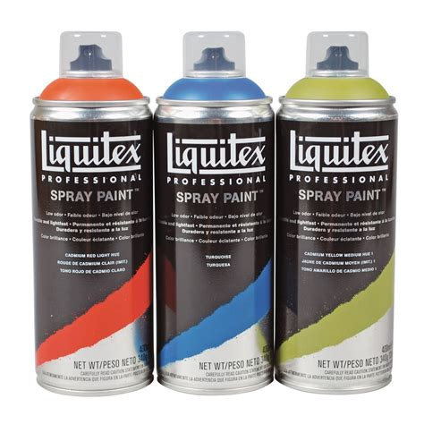 spray paint acrylic spray paint liquitex from craftyarts co uk uk