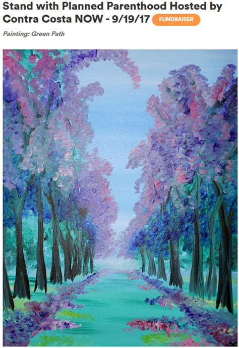 Paint Nite Fundraiser Stand With Planned Parenthood