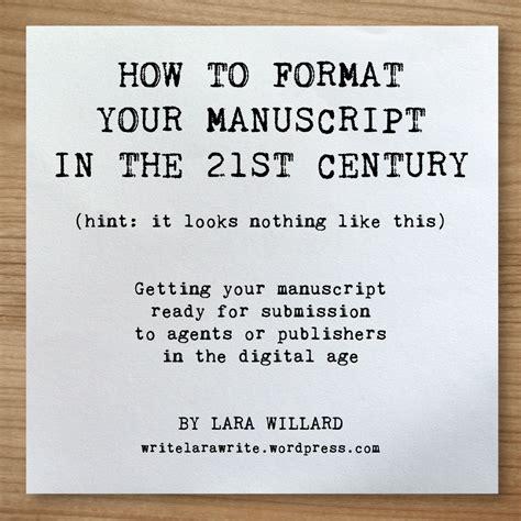 how to format a picture book manuscript manuscript format template free lara willard