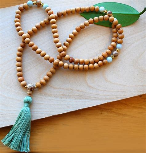 how many does a mala japa mala wood jade designs