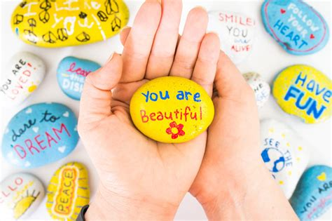 kindness crafts for kindness rocks project with ideas consumer crafts