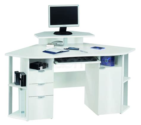 corner computer desk with storage white corner computer desk for home office office architect