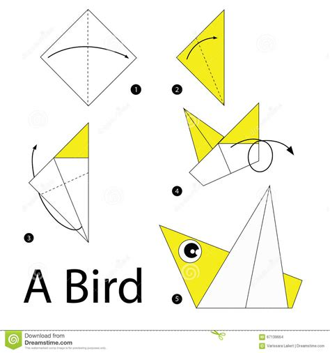 make origami bird step by step how to make origami a bird