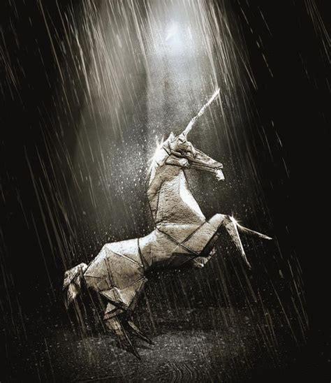 blade runner unicorn origami blade runner origami unicorn style upon style