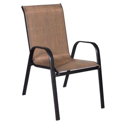patio dining chair dixon stacking sling outdoor dining chair patio furniture