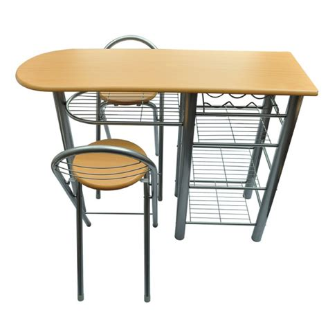 kitchen bar table and chairs breakfast bar table and 2 stools chairs seat dining set
